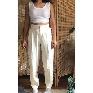 Ellen Tracy Vintage Silk Pants